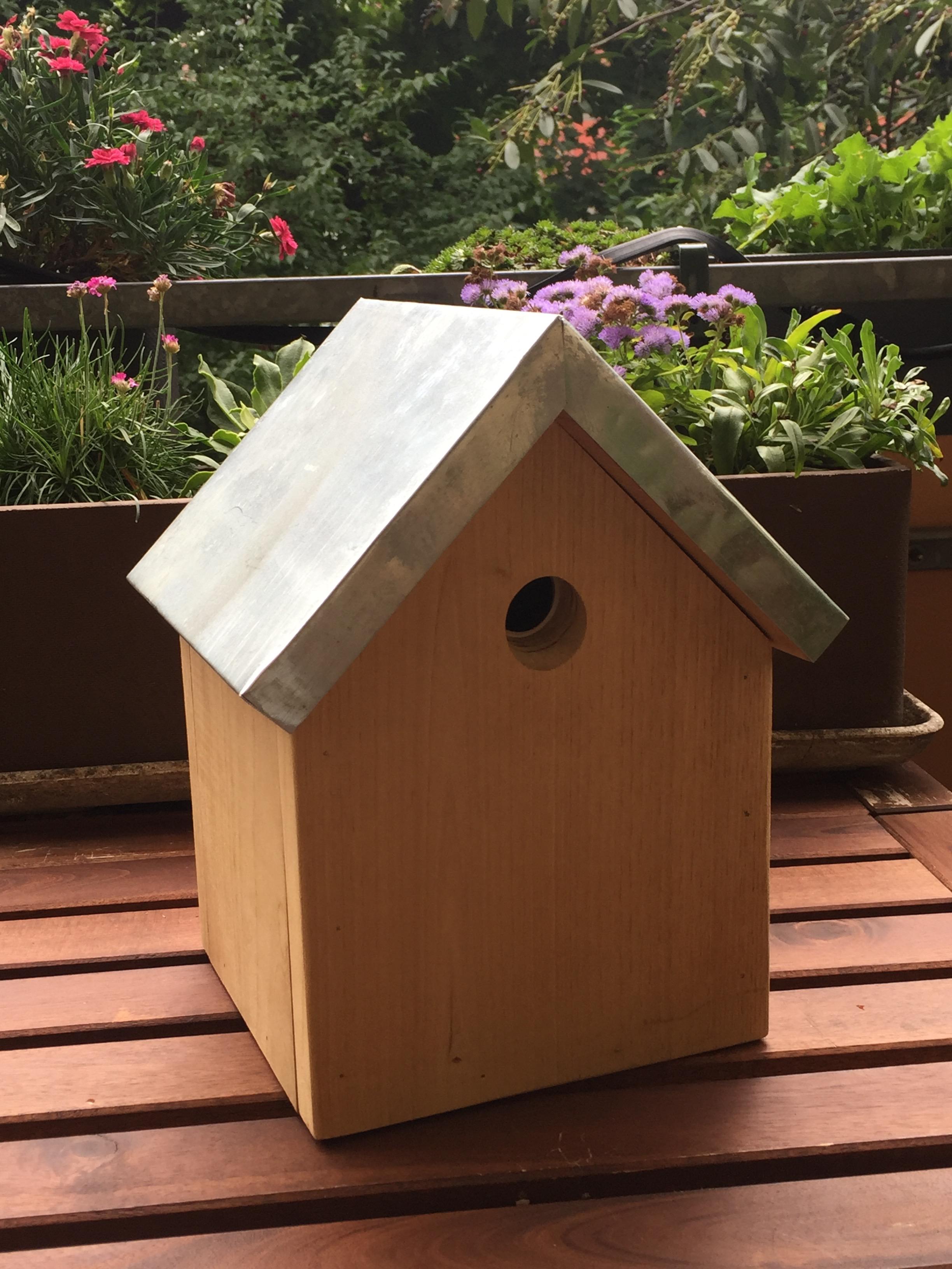 Nichoir pour mésanges (gamme durable) – Animaux du Jardin - Nichoir Mésange Orientation