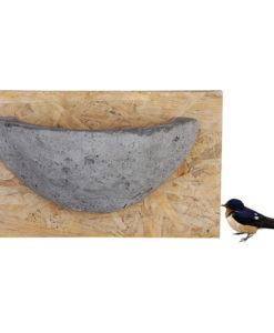 Nid en béton pour Hirondelles rustiques