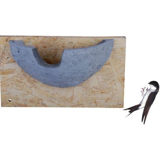 Nid pour Hirondelles de fenêtres en béton