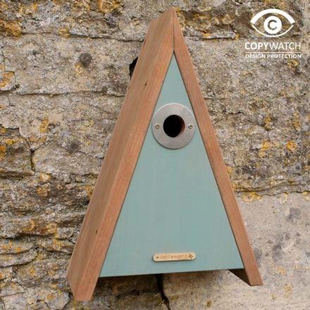 Elegantes Vogelhaus für Meisen und Sperlinge