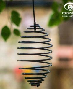 Spirale pour oiseaux (commandable uniquement avec un autre article)