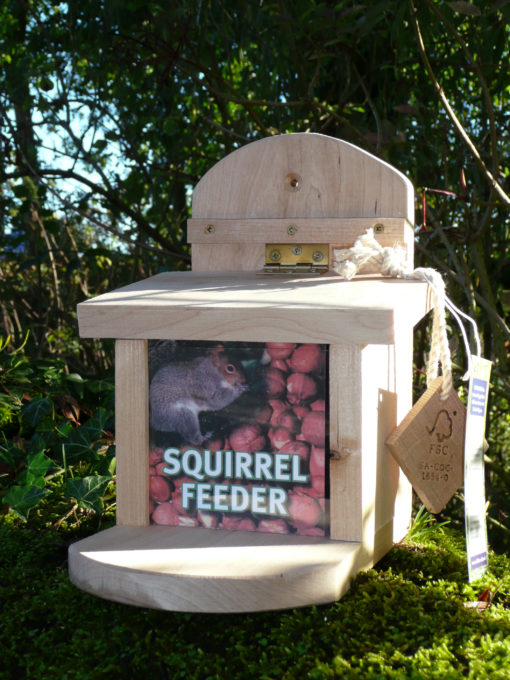 SF Squirrel Feeder