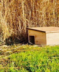 Igelhütte aus Lärchenholz