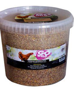 Nourriture complète pour poules